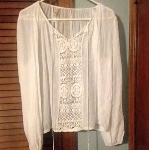 Women's Boho inspired blouse